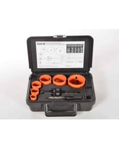 Bi-Metal Hole Saw Kit, 8-Piece